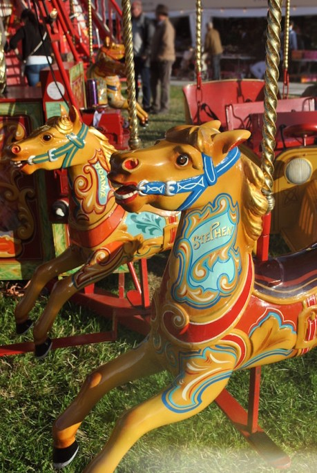 Goodwood Revival carousel