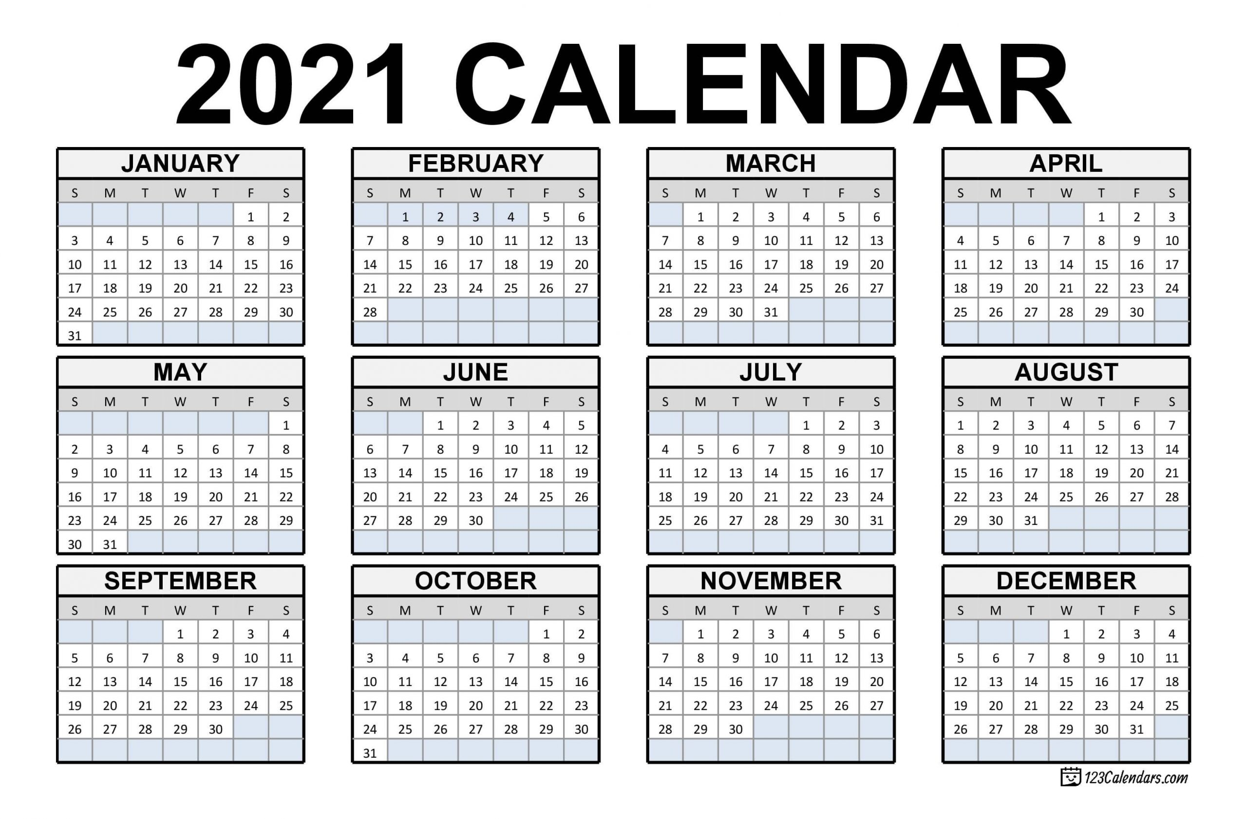 Our editors independently research, test, and recommend the best products; Effective Free Downloadable 2021 Calendar | Get Your ...