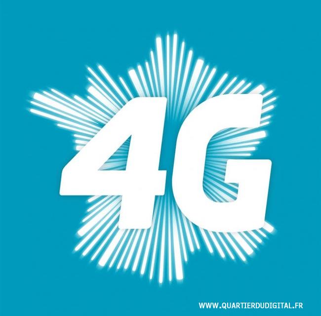 La 4G en France. Free loin (très loin) derrière !