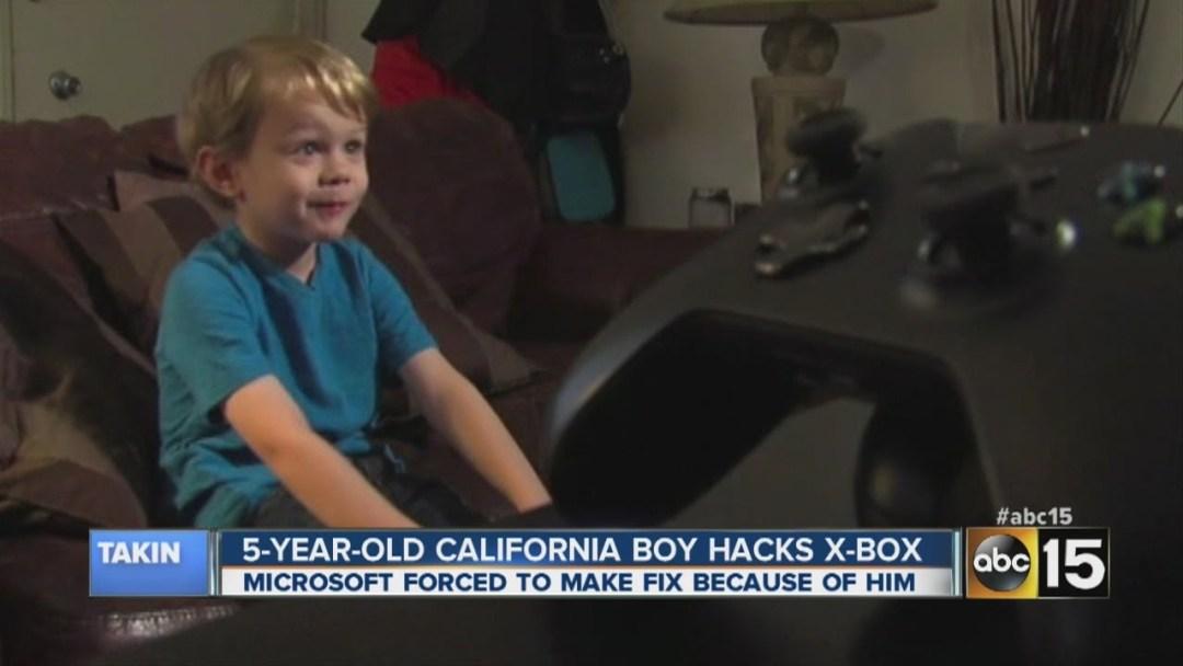 Photo de Kristoffer , hacker de 5 ans