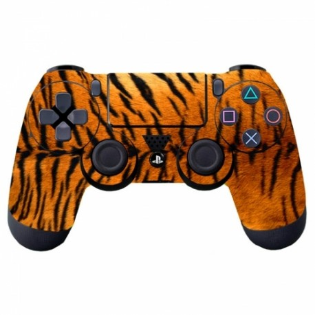 manette-ps4-fourrure-tigre