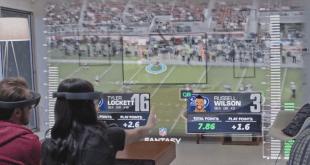 NFL microsoft hololens