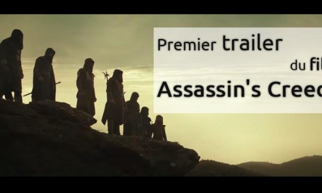 Le premier trailer d'Assassin's Creed !