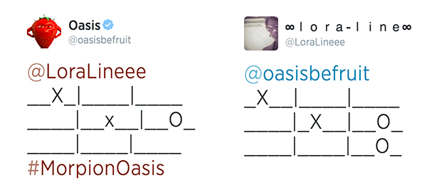 oasis-be-fruit-morpion-twitter-cm