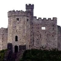 O castelo de Cardiff
