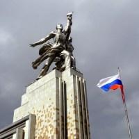 Feira, praças e as ruas de Moscou