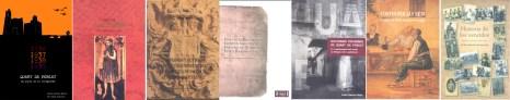 Algunos de los libros publicados en el Premio de Ciencias Sociales de Quart de Poblet.