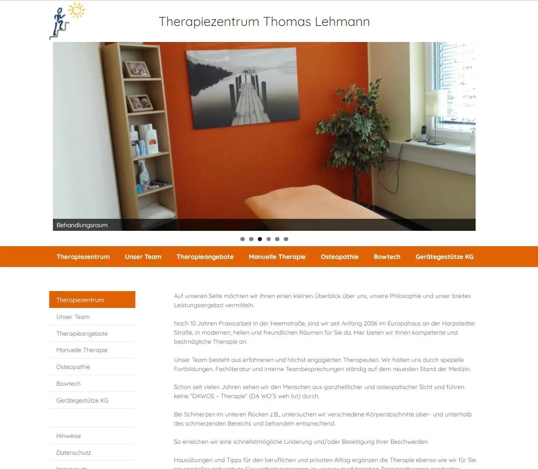 Therapiezentrum Lehmann