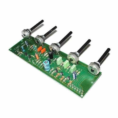 Two Channel Audio Mixer Circuit Design Electronic Project