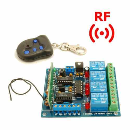Remote Control Circuit Using A Fm Radio Electronic Circuit Projects