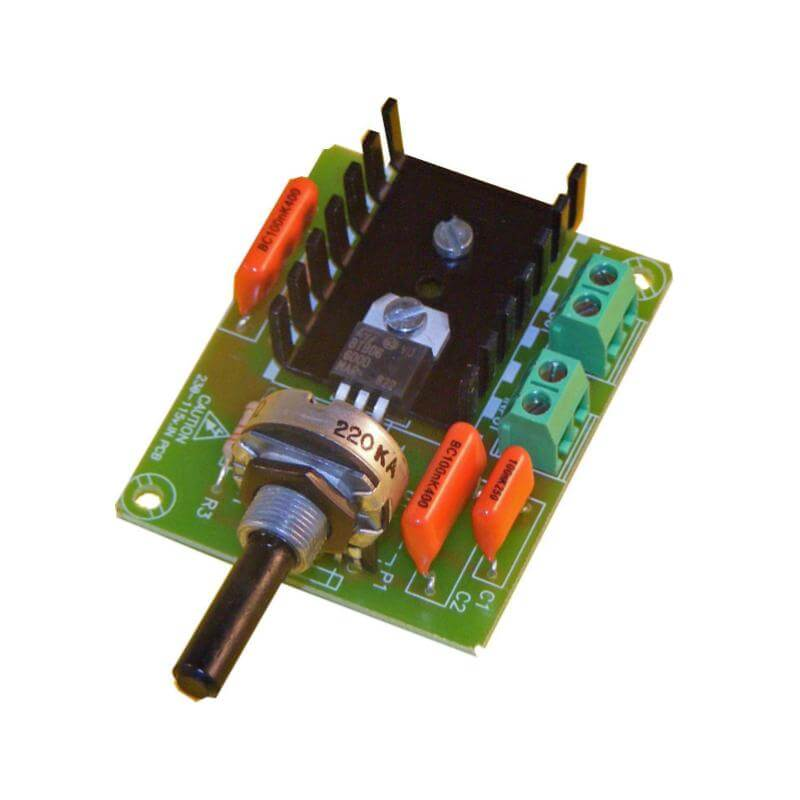 Circuit Pot Controlled Variable Led Intensity Circuits Designed By
