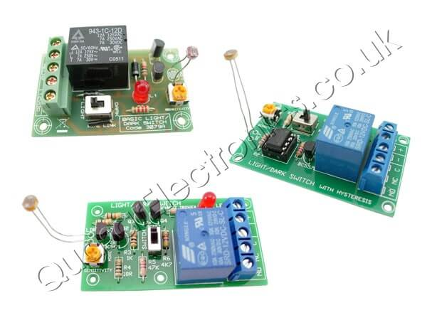 Light Dark Sensor With Relay Circuit Using Lm741 All About