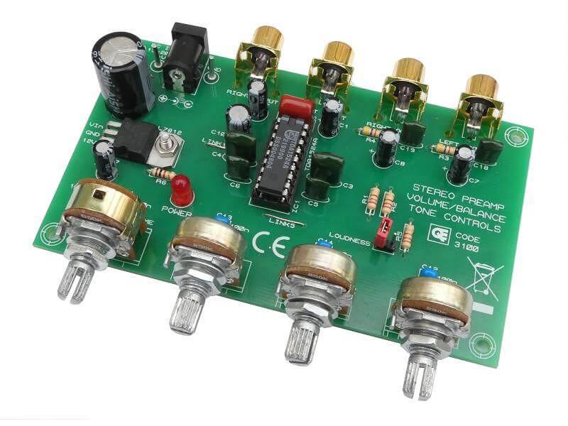 Tone Control Circuit Using Tda1524a Simple Schematic Diagram