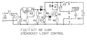 Emergency Lighting Controller | Smart Kit 1184
