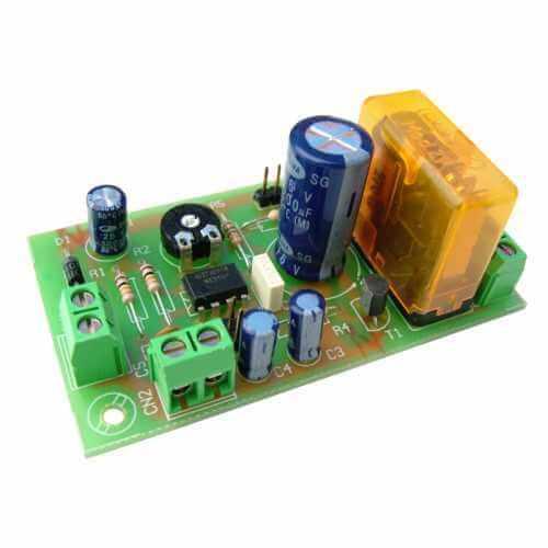 Pir Motion Sensor Security Circuit Duration Adjustable Project1