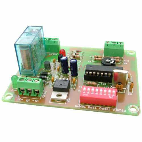 Time Delay Light Switch Circuit Electronics Area