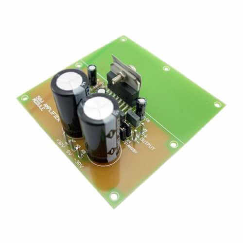 25w Hifi Audio Amplifier Lm1875 Circuitschematic