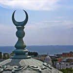 Constanta view from the Carol I Mosque