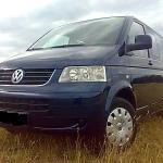 Minivan Volkswagen Transporter 8+1seats