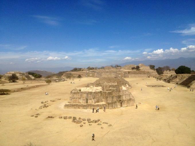 Zona arqueológica de Monte Albán - Oaxaca - México