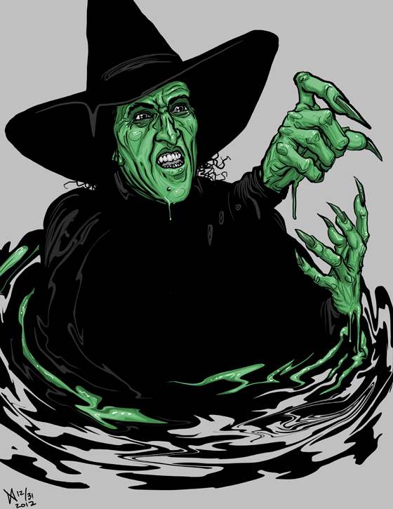 Wicked Witch Of The West Melting Clipart 80843 Usbdata