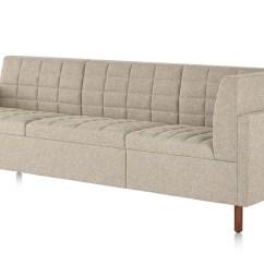 Herman Miller Tuxedo Classic Sofa Leather Reclining Slipcover Clasic - Quasi Modo Modern ...