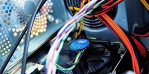 Computer repair slide