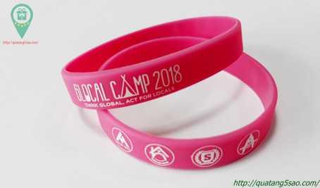 Vòng tay cao su cho Glocal Camp 2018 - Trại hè Singapore