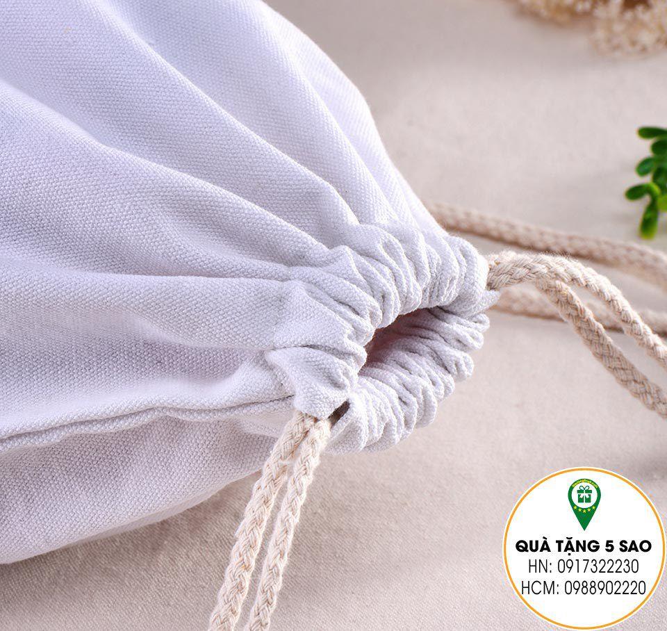 Xưởng sản xuất túi rút bằng vải bằng dây dù bền và chắc