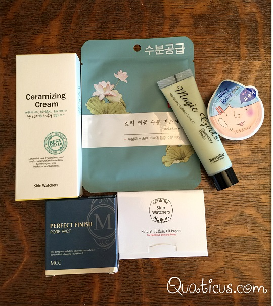 April 2016 MishiBox Korean Beauty Subscription Box