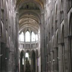 Cathedral Architecture Gothic Arches Diagram Home Theatre System Wiring Middle Ages History Of Quatr Us A Very High Nave With Stone