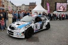 Départ 1e boucle rallye Le Béthunois 2015 (13)