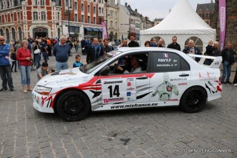 Départ 1e boucle rallye Le Béthunois 2015 (15)