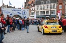 Départ 1e boucle rallye Le Béthunois 2015 (19)