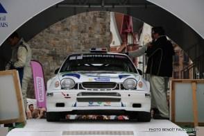 Départ 1e boucle rallye Le Béthunois 2015 (5)
