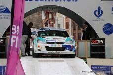 Départ 1e boucle rallye Le Béthunois 2015 (7)