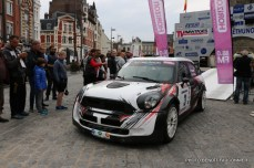 Départ 1e boucle rallye Le Béthunois 2015 (9)