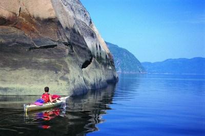 Kayak de mer Fjord du Saguenay 3