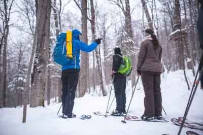 Ski-raquette Duchesnay 7