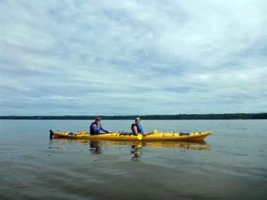 Kayak de mer Découverte Ile d'Orléans 03
