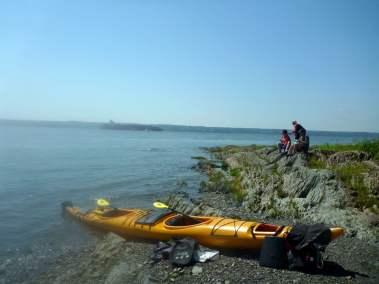 Kayak de mer Découverte Ile d'Orléans 04