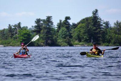 Mille-Iles - kayak de mer 01