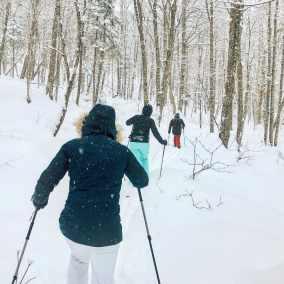 Ski nordique au parc national de la Jacques-Cartier 09