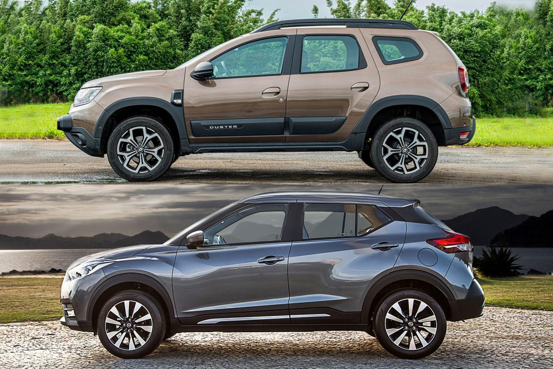 """Renault Duster e Sandero vão virar """"irmãos gêmeos"""" de Nissan Kicks e March"""