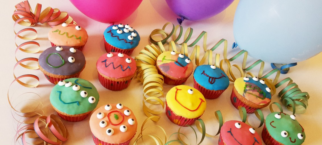 Monster Muffins fr die Halloweenparty  QuatschMatschde
