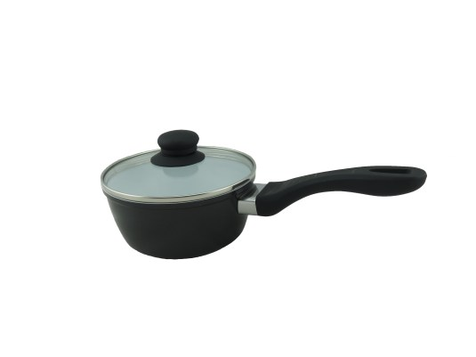 keramisk kastrull svart
