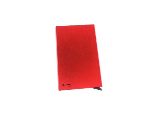 Korthållare cardsafe röd