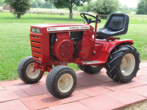 image of Wheel Horse mower
