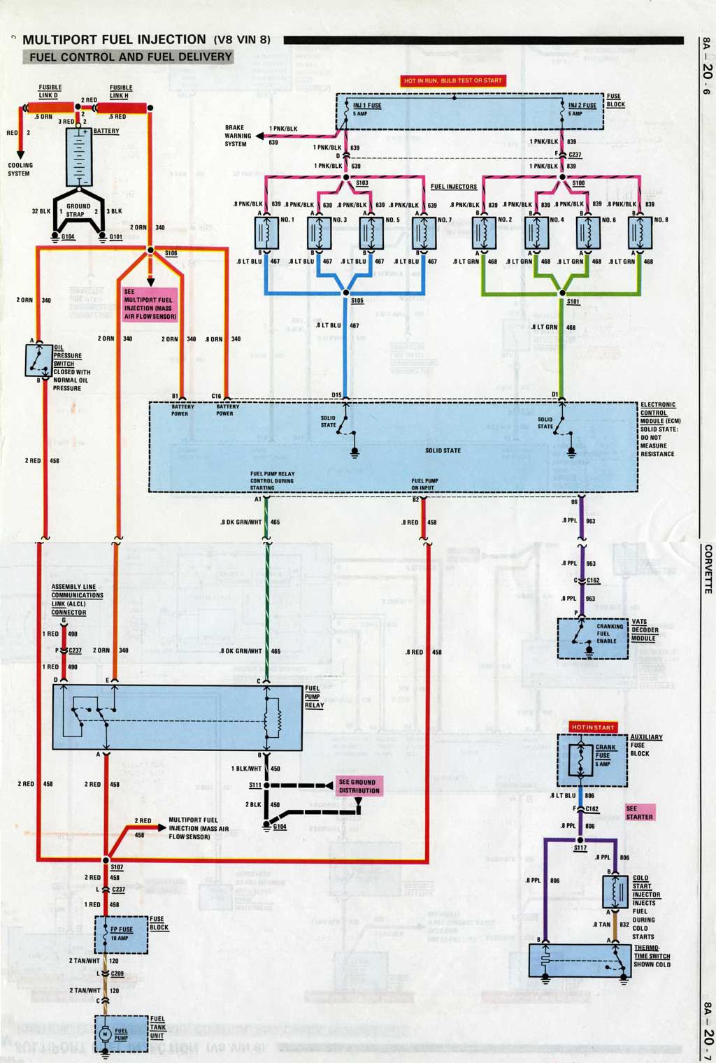 1985 corvette wiring diagram casablanca fan motor 86 aldl problem forum digitalcorvettes