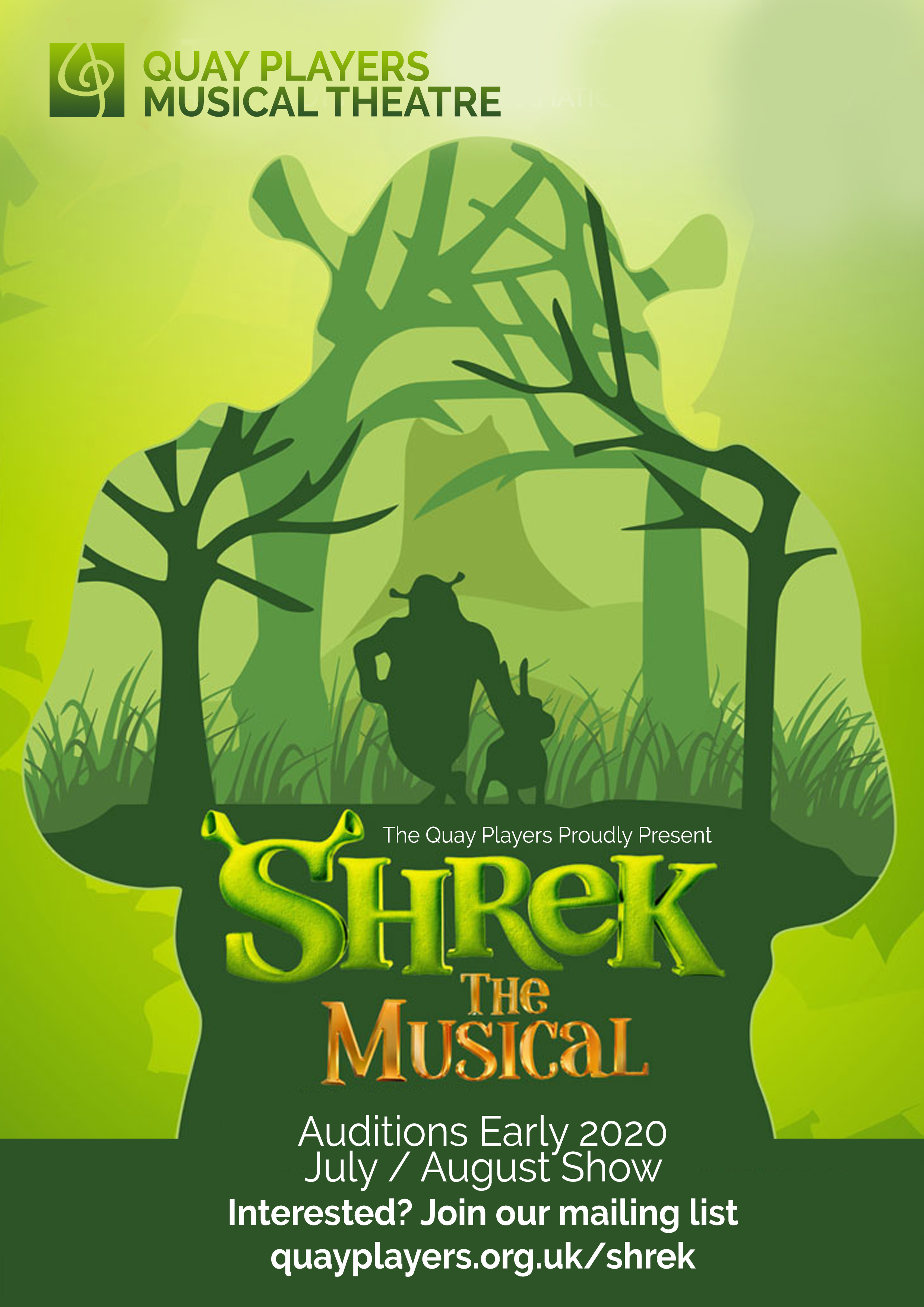 Shrek The Musical Quay Players